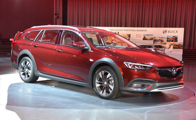 Honda Parts Cheap >> All-New 2018 Buick Regal Is Now a Sportback and a Wagon ...