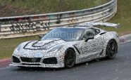Corvette ZR1 Spied Getting Some Track Time with Crazy Aero Package