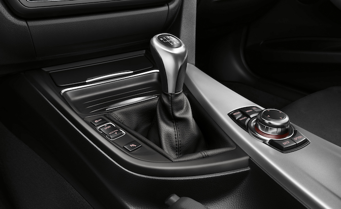 Bmw might soon bid farewell to manual transmissions for Mercedes benz stick shift