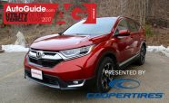 Honda CR-V Wins 2017 AutoGuide.com Utility Vehicle of the Year Award
