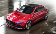 Mercedes Previews Next-Generation Compact Models with New Concept