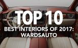 Top 10 Best Car Interiors of 2017: WardsAuto