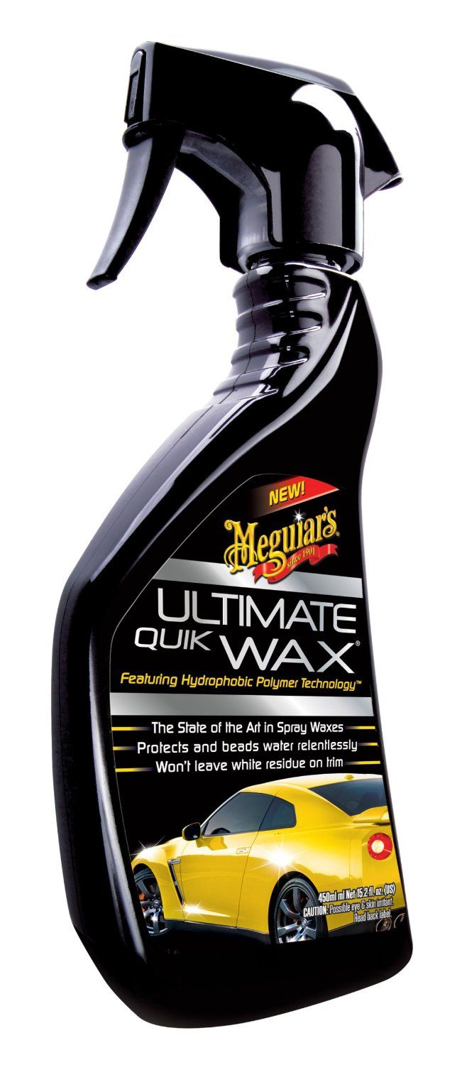 Spray wax detailer