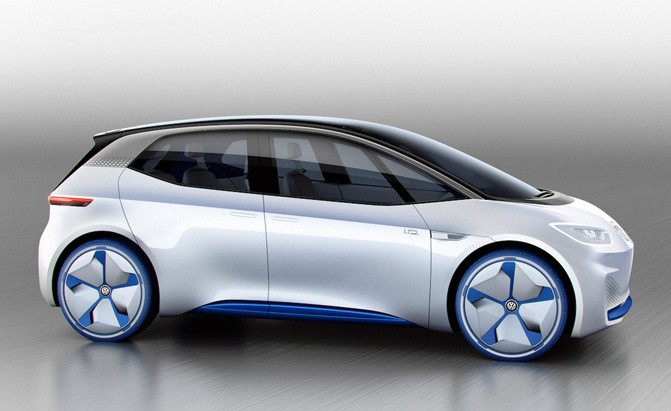 Volkswagen Has Two Electric I D Sedans In The Works Autoguide