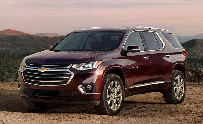 new 2018 chevrolet traverse pricing announced news. Black Bedroom Furniture Sets. Home Design Ideas