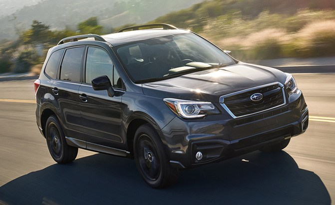 pricing announced for 2018 subaru forester news. Black Bedroom Furniture Sets. Home Design Ideas