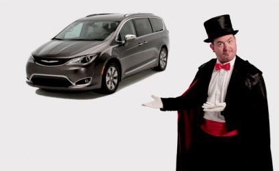 The All-New 2017 Chrysler Pacifica Hybrid Has Everything You Need to Keep Your Kids Entertained