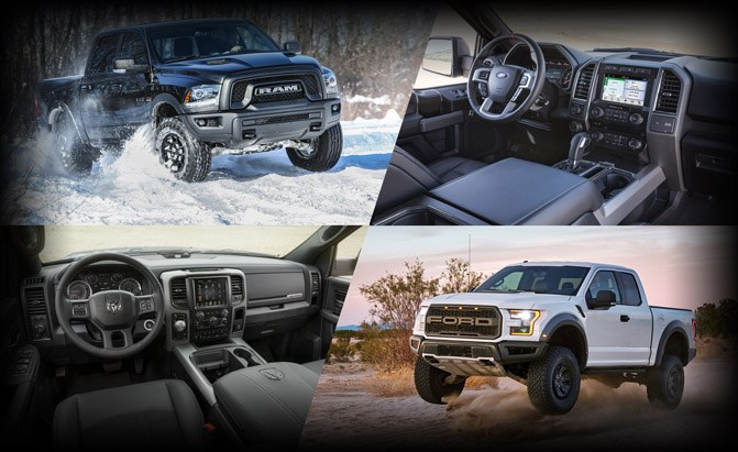 Poll: Ram 1500 Rebel or Ford F-150 Raptor? » AutoGuide.com News on rebel dodge ram truck 2016, fiat pickup truck ram, rebel dodge ram truck 2015,