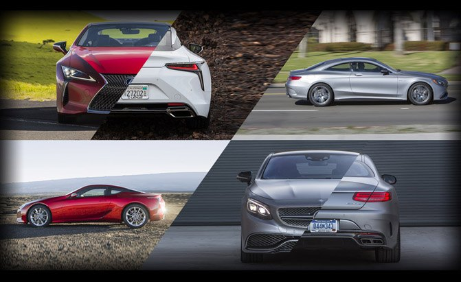 Lexus LC 500 or Mercedes-Benz S550 4Matic Coupe?