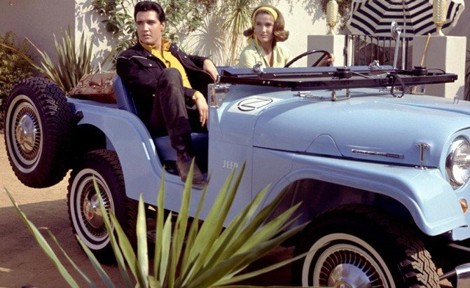 Jeep Driven By Elvis Is Crossing The Auction Block