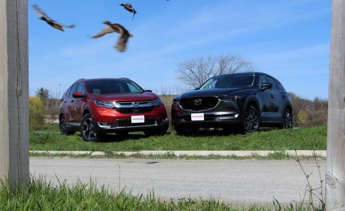 Honda CR-V vs Mazda CX-5 Comparison