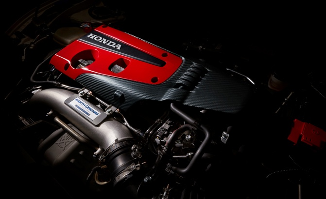 2017 Honda Civic Type R Turbo Engine