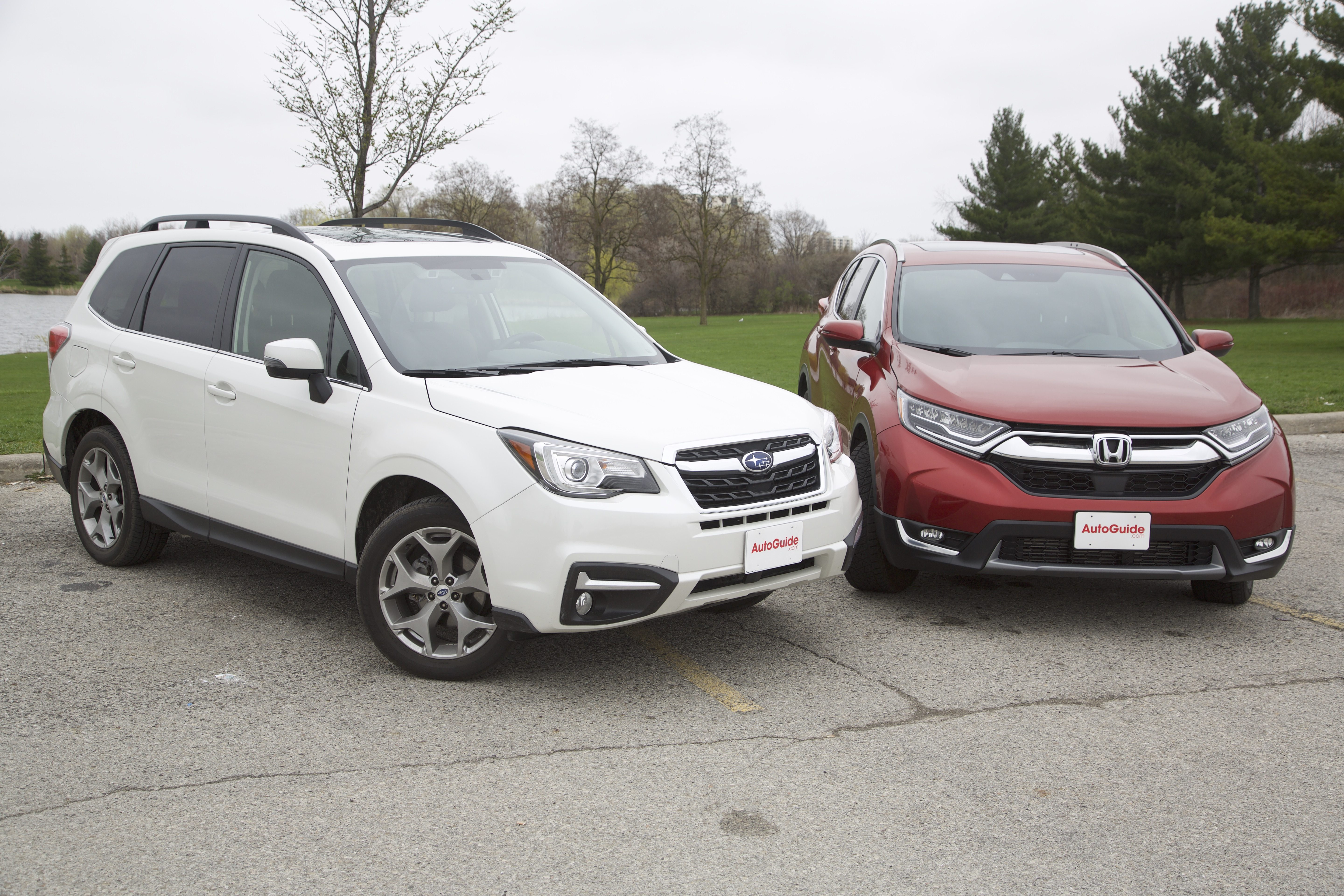 2017 honda cr v vs 2017 subaru forester news for Honda crv vs subaru forester