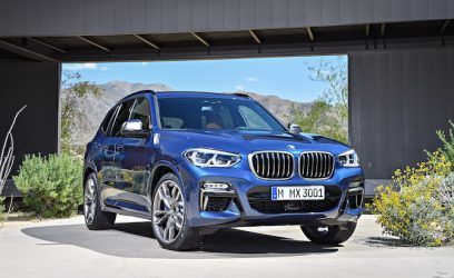 2018 BMW X3 Arrives With Updated Looks, Comfier Cabin