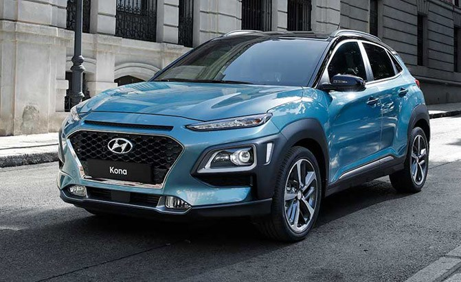 2018 Hyundai Kona Subcompact Crossover Revealed ...