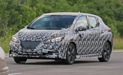 2018 Nissan Leaf Spied Looking Almost Production Ready