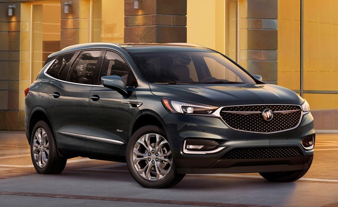 2018 buick enclave gets a price bump news. Black Bedroom Furniture Sets. Home Design Ideas