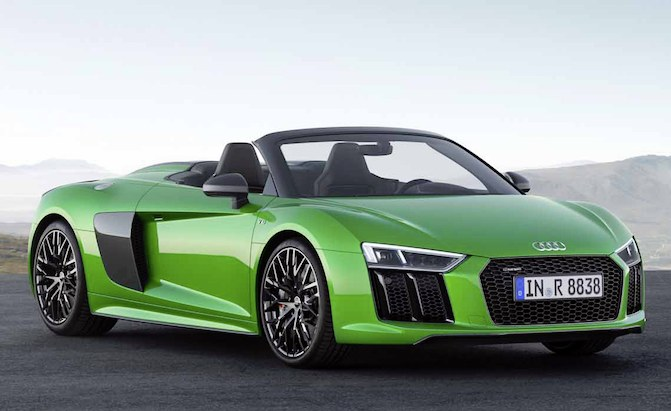 The R8 Spyder V10 Plus Is Audi S Most Powerful Convertible