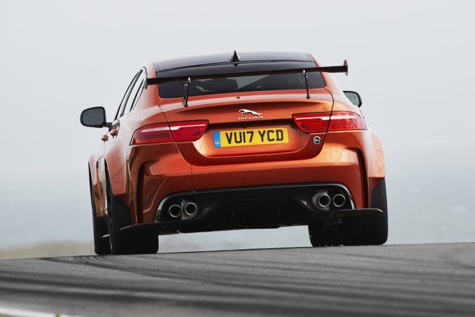 Have A Look At The New Jaguar XE SV Project 8