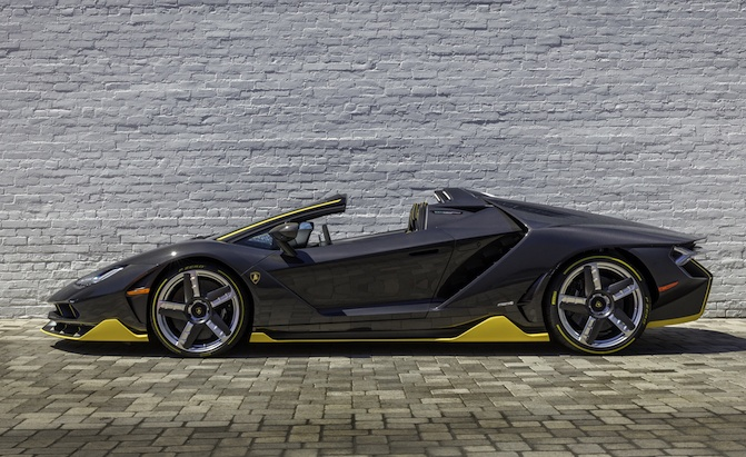 World S First Lamborghini Centenario Roadster Delivered In