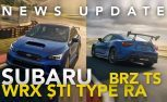 Subaru WRX STI Type RA and BRZ tS, Toyota Supra Interior Spy Photos, Hyundai Veloster N: Weekly News Roundup Video