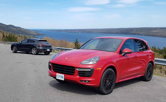 porsche suvs feel at home in beautiful yet harsh locales news. Black Bedroom Furniture Sets. Home Design Ideas