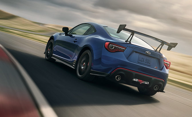 2018 Subaru Brz Ts Is Built For The Corners Not The Straights