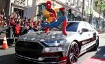 Audi A8 Shows Up at Spider-Man Premiere Appropriately Disguised