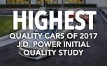 Highest Quality Cars of 2017: J.D. Power Initial Quality Study
