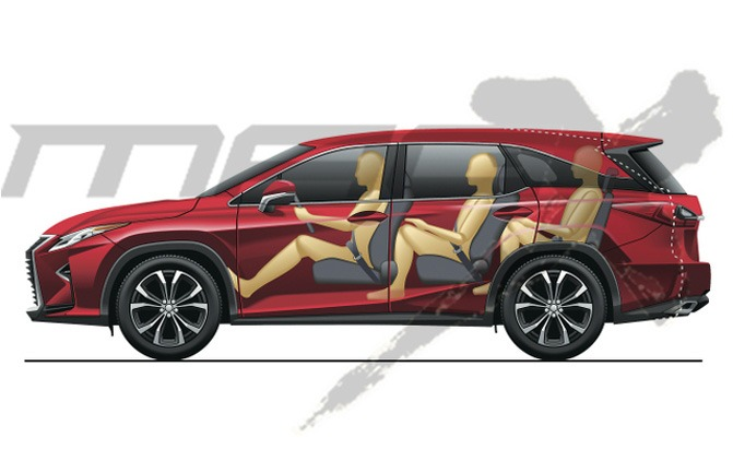 3-Row Lexus RX Rumored to Debut this October
