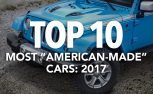 Top 10 Most American-Made Cars: 2017