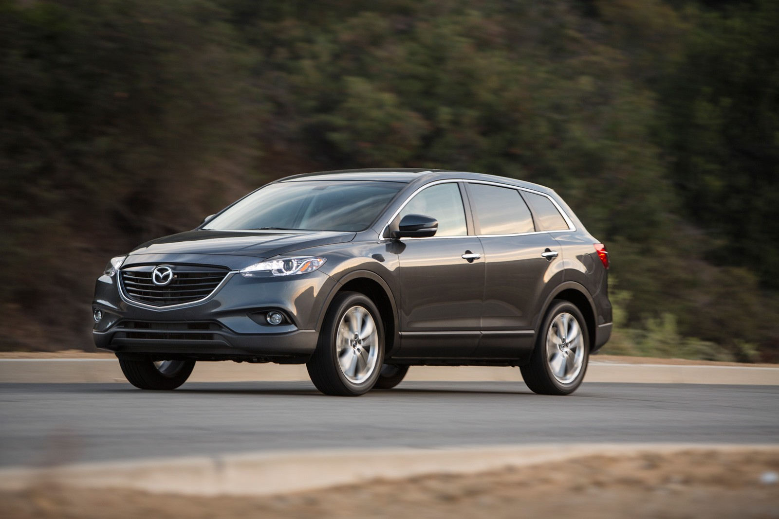 A brand new mazda cx 9 is a bit off the 30 000 mark with a starting price of 32 460 but that means it s not too difficult to find a used or cpo model