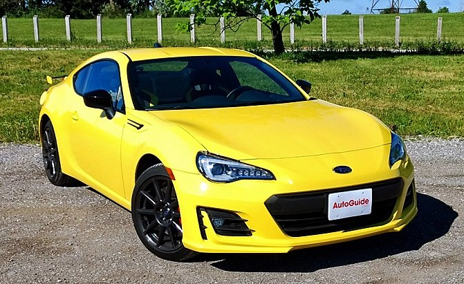 Toyota Supra Yellow >> 2017 Subaru BRZ Series Yellow Review - AutoGuide.com
