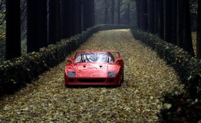 Celebrate the 30th Anniversary of the Ferrari F40 With This Amazing Throwback Gallery