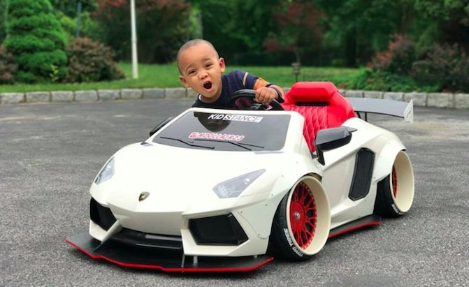 These Kids And Their Stanced Power Wheels Are Coming To Ruin Playground Cars And Coffee