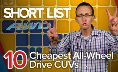 10 Cheapest All-Wheel-Drive Crossovers: The Short List