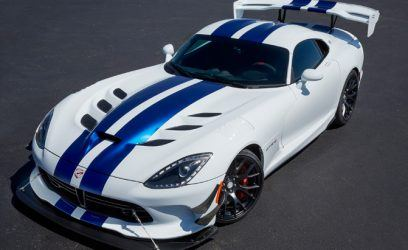 2017 Dodge Viper ACR Sets Blazing Unofficial Nurburgring Time