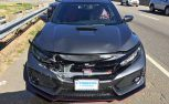 Honda Civic Type R Gets Destroyed on its First Day Out