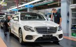 Watch a New Mercedes S-Class Drive Itself off the Assembly Line