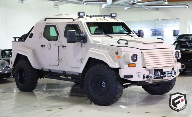 This Armored Truck Costs More Than A Lamborghini