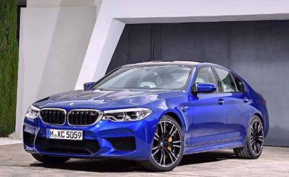 BMW M5 Competition Package Coming in 2018