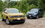 2018 Volkswagen Atlas vs 2017 Honda Pilot Comparison Test