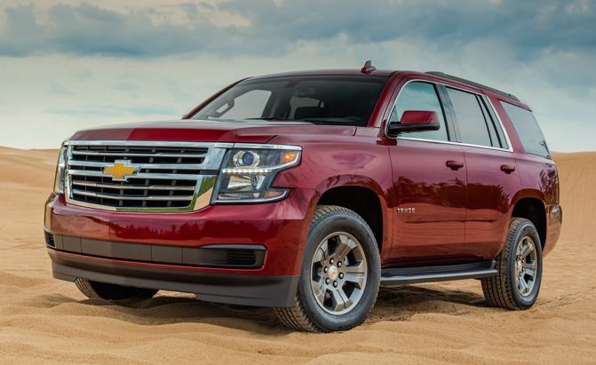 2018 Chevrolet Tahoe Lineup Expands with New 'Custom' Trim ...