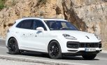 2018 Porsche Cayenne Smiles for the Camera Wearing All White