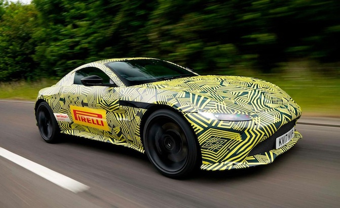 Aston Martin Shows Off New V8 Vantage Sort Of