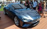 BMW 8 Series Concept Stands Out Among Sea of Supercars