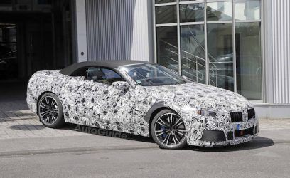 BMW M8 Convertible Caught by Photographers at the Nurburgring