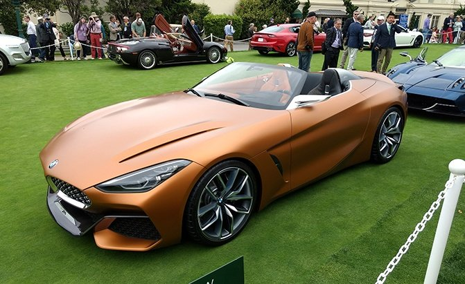 Bmw Z4 New Shape Bmw Z4 Concept Archives Autoguide Com