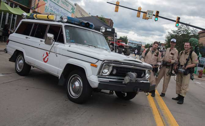 Top 10 Movie And Tv Cars At The 2017 Woodward Dream Cruise