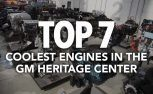 Top 7 Coolest Engines in the GM Heritage Center
